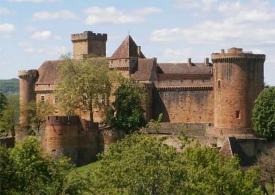 Château de Castelnau Bretenoux - Lot - Midi-Pyrénées