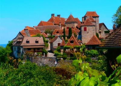 Loubressac - Plus beau village de France - Lot - Midi-Pyrénées