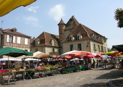 Marché de Bretenoux - Lot - Midi-Pyrénées
