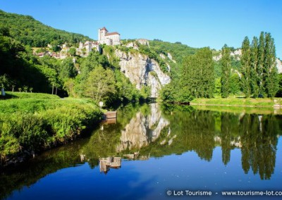 Saint-Cirq Lapopie - Lot - Midi-Pyrénées