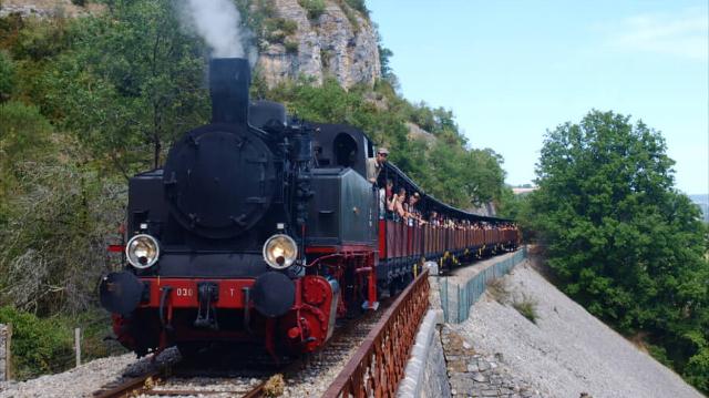 Train à Vapeur de Martel - Le Truffadou