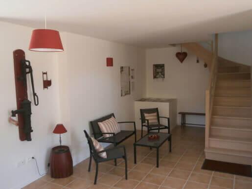 Le salon des hôtes - Chambres d'hôtes et table d'hôtes dans le Lot (46) Midi-Pyrénées - La Chômiarde