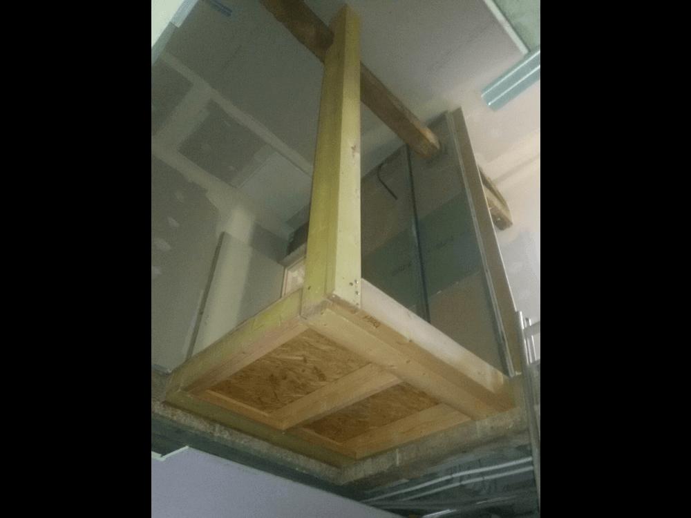 Trémie étage 01-2016