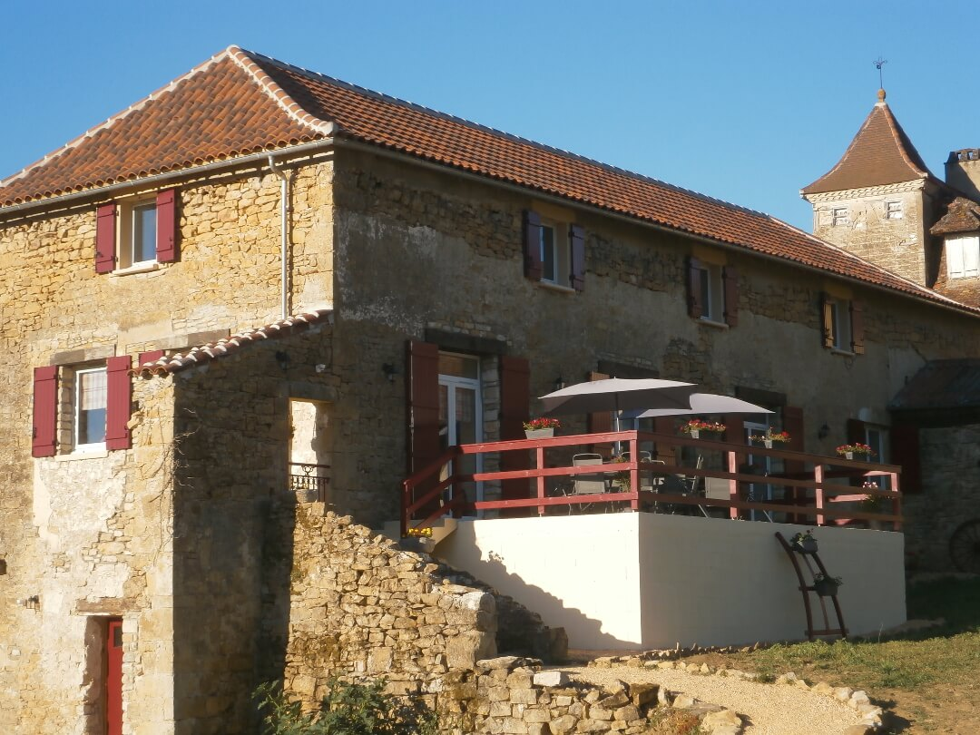 Chambres d'hôtes et table d'hôtes dans le Lot (46) Midi-Pyrénées - La Chômiarde