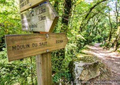 Circuit rando Moulin du saut - Lot - Midi-Pyrénées