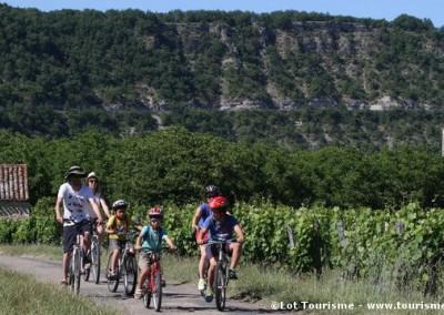 Randonnées en VTT - Lot - Midi-Pyrénées